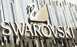 swarovski 免版税图库摄影