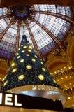 Swarovski christmas tree Royalty Free Stock Images