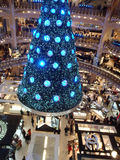 Swarovski christmas tree Stock Images