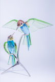 Swarovski Crystal Hummingbirds Royalty Free Stock Images