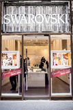 Swarovski Crystal Store NYC Royalty-vrije Stock Fotografie