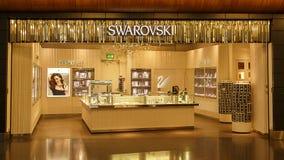 Swarovski Diamonds Store Stock Photo