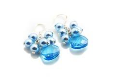 Swarovski  Earrings Royalty Free Stock Images