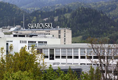 Swarovski factory Royalty Free Stock Photography