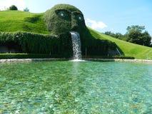Swarovski green man of legend near Innsbruck, Austria. Stock Images