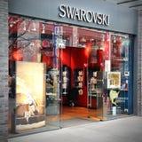 Swarovski jewelry store Stock Image
