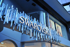 Swarovski logo Stock Photography