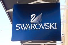 Swarovski logo Royaltyfria Bilder