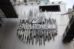 Swarovski logo Royalty Free Stock Photo