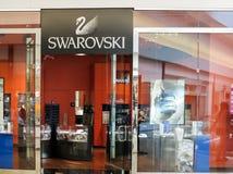 Swarovski shop Stock Photo