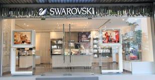 Swarovski shop in hong kong Stock Photo