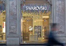 Swarovski shop Royalty Free Stock Photo