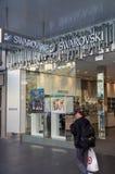 Swarovski sklep detaliczny w Bourke ulicie, Melbourne Obrazy Stock