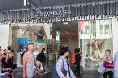Swarovski sklep detaliczny w Bourke ulicie, Melbourne Fotografia Royalty Free
