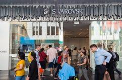 Swarovski sklep detaliczny w Bourke ulicie, Melbourne Zdjęcia Stock