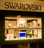 Swarovski store Royalty Free Stock Photography