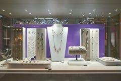 Swarovski store. DUSSELDORF, GERMANY - CIRCA SEPTEMBER, 2018: display window at Swarovski store in Dusseldorf stock photo