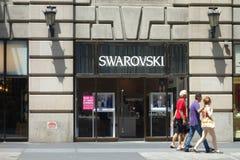 Swarovski Store Stock Photo