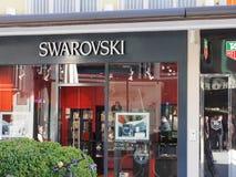 Swarovski store Stock Images