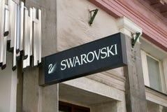 Swarovski sztandar Zdjęcie Royalty Free