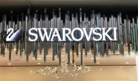 Swarovski tecken Arkivbild
