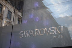 Swarowski Flagship Store Royalty Free Stock Photo