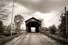Swartz covered bridge Royalty Free Stock Image