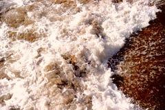 Swash, debth воды, коричневый холоп Стоковые Изображения RF