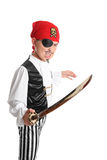 Swashbuckling Pirate Royalty Free Stock Photography