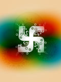 Swastik symbol Stock Photography