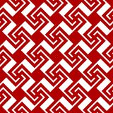 Swastika seamless pattern red Royalty Free Stock Photography