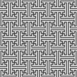Swastika ornament seamless pattern Royalty Free Stock Photo