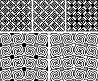 Swastika pattern Royalty Free Stock Photography