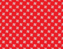 Swastika seamless pattern. Royalty Free Stock Photos