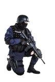 Ανώτερος υπάλληλος SWAT Στοκ Φωτογραφίες