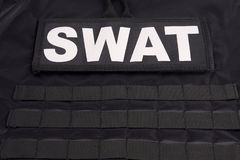 SWAT armor suit Stock Image