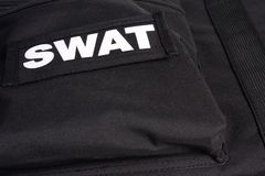 SWAT armor suit Royalty Free Stock Image