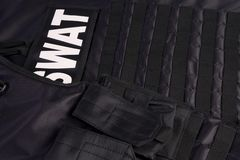 SWAT armor suit Royalty Free Stock Images