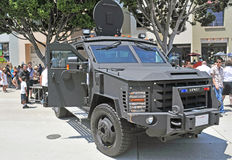 SWAT Assault Vehicle Royalty Free Stock Images