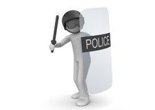 SWAT avec l'écran protecteur Image stock
