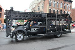 SWAT car Stock Images