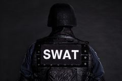 SWAT officer Royalty Free Stock Photos