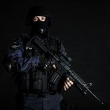 SWAT officer Royalty Free Stock Images