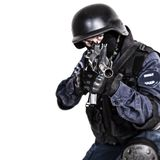 SWAT officer Stock Photography