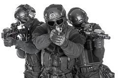 SWAT officers Royalty Free Stock Images