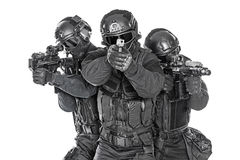 SWAT officers Royalty Free Stock Image
