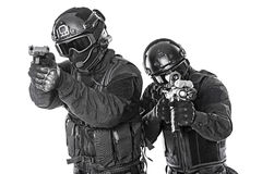 SWAT officers Royalty Free Stock Photography