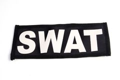 SWAT patch Stock Image