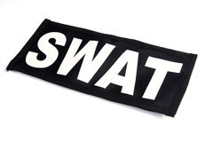 SWAT patch. On the white background Royalty Free Stock Photos