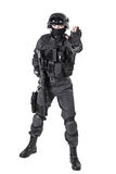 SWAT police officer Royalty Free Stock Photos